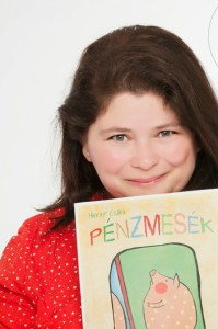 Himer Csilla pénzpedagógus, a Pénzmesék szerzője